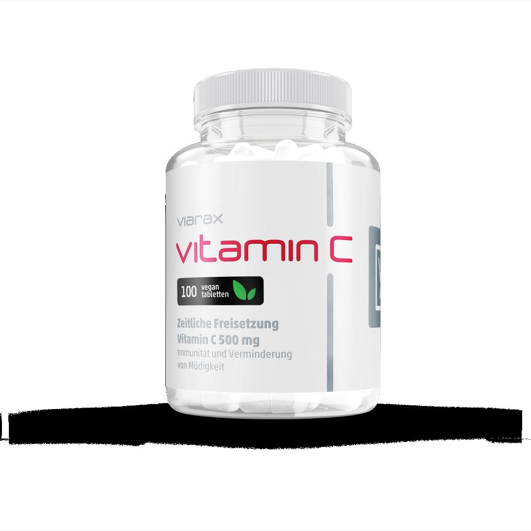Vitamin C 500 mg mit verzögerter Freisetzung
